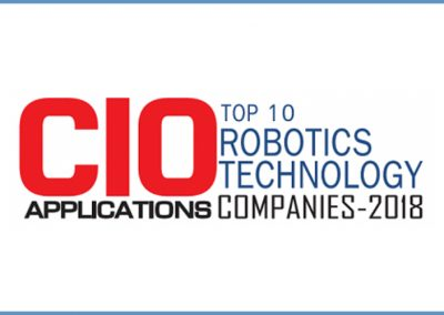 """CoSourcing Partners Named to """"Top 10 Robotics Technology Companies – 2018"""" by CIO Applications"""