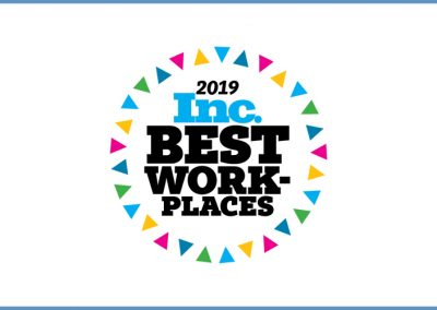CoSourcing Partners is One of INC. Magazine's Best Workplaces 2019