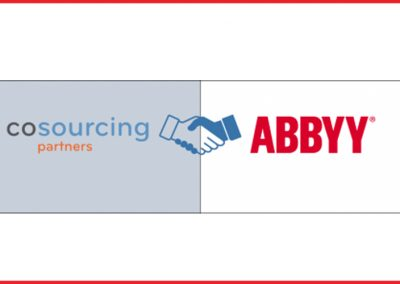 CoSourcing Partners and ABBYY Announce Partnership to Offer Expanded Services and Support