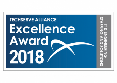 """CoSourcing Partners is Recognized by TechServe Alliance with """"Excellence Award"""" for 5th Straight Year!"""