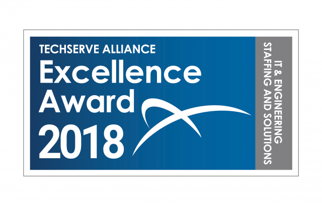 "CoSourcing Partners is Recognized by TechServe Alliance with ""Excellence Award"" for 5th Straight Year!"