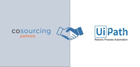 CoSourcing Partners and UiPath Announce Partnership to Offer Customers Robotic Process Automation (RPA) Services