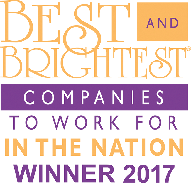 """CoSourcing Partners Named One of the Nations """"Best and Brightest Companies to Work for"""" for the 2nd Consecutive Year"""