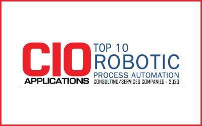 CIO Applications Honors CoSourcing Partners as a Top 10 Robotic Process Automation Consulting/Services Company in 2020