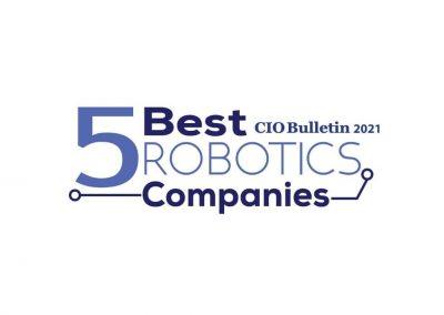 CIO Bulletin's 5 Best Robotics Companies 2021 Recognizes CoSourcing Partners