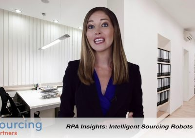 RPA Insights: Intelligent Sourcing Robots