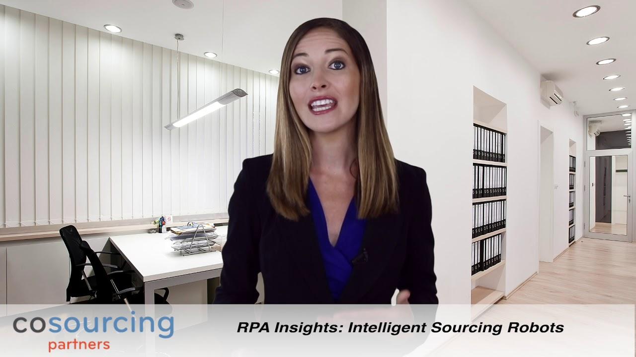 Intelligent sourcing robots video