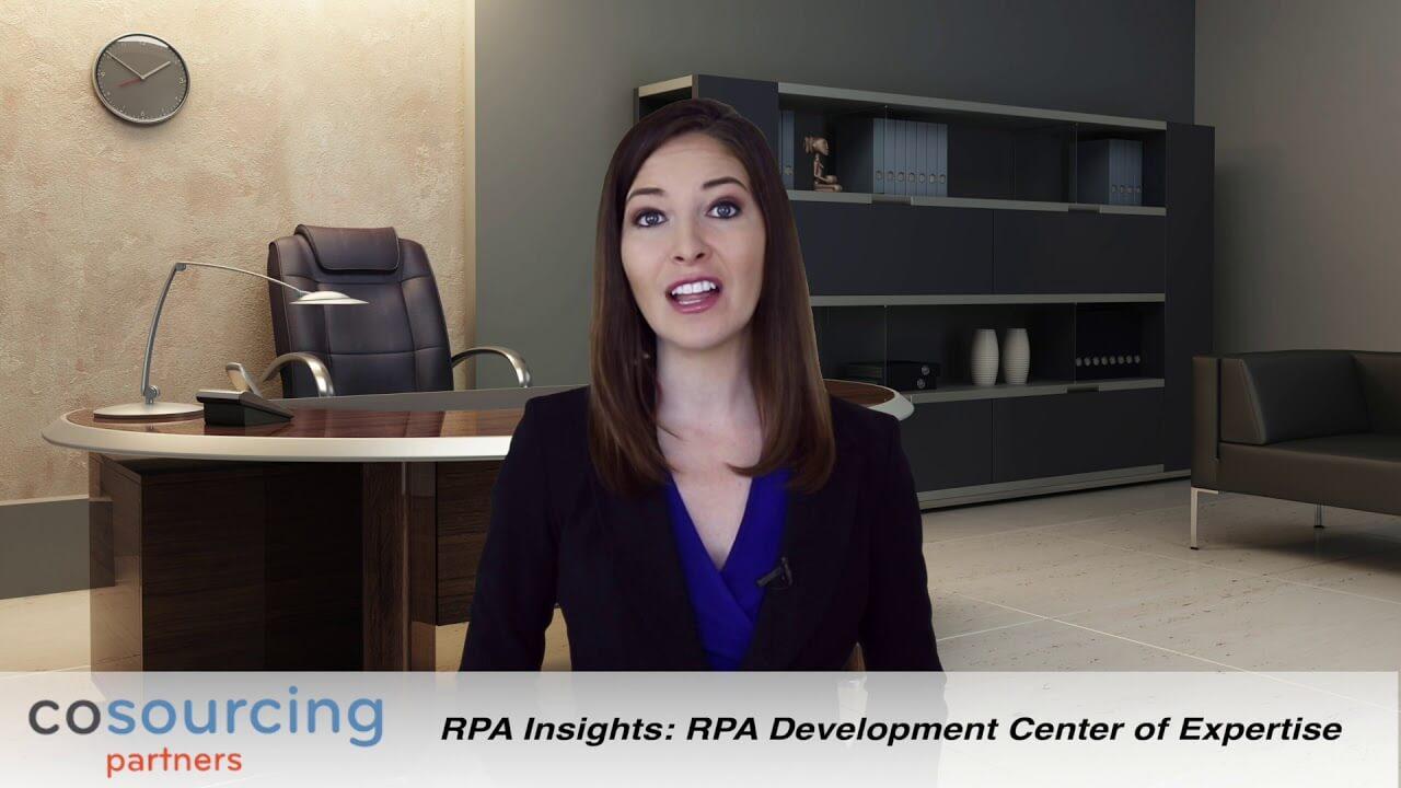 RPA Development Center of Expertise video